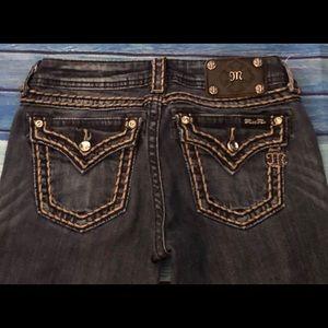 Miss Me Jeans - Miss Me Mid Rise L, boot cut, Thick Stitch 28x29